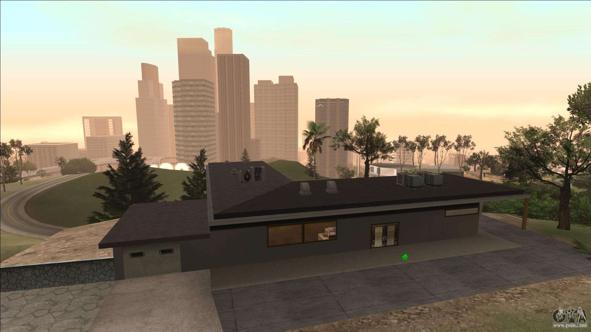 beta mulholland safehouse for gta san andreas. Black Bedroom Furniture Sets. Home Design Ideas