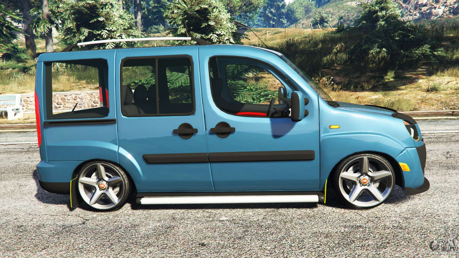 fiat doblo for gta 5. Black Bedroom Furniture Sets. Home Design Ideas