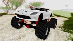 Dodge Viper SRT GTS 2012 Monster Truck