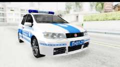 Fiat Punto Mk2 Policija for GTA San Andreas