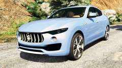 Maserati Levante 2017 [add-on] for GTA 5