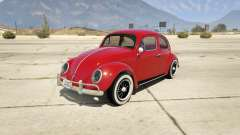 1963 Volkswagen Beetle 1.0.1 for GTA 5