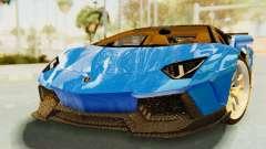 Lamborghini Aventador LP700-4 LB Walk Fenders for GTA San Andreas