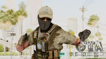 MOH Warfighter Grom Specops for GTA San Andreas
