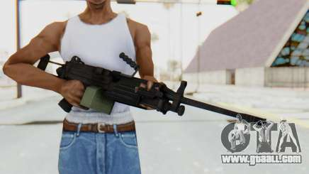 FN Minimi M249 Para for GTA San Andreas