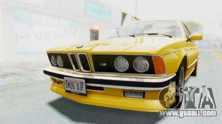 BMW M635 CSi (E24) 1984 HQLM PJ2 for GTA San Andreas