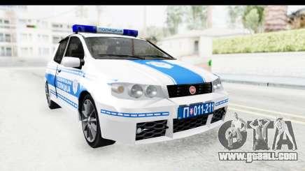Fiat Punto Mk2 Policija for GTA San Andreas