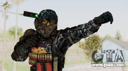 CoD Advanced Warfare KVA Heavy Soldier for GTA San Andreas
