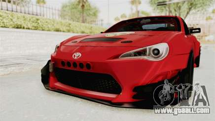 Toyota GT86 Drift Edition for GTA San Andreas