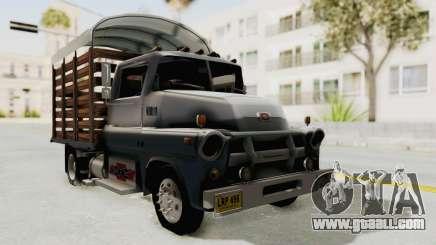 Chevrolet 56 Mini C.O.E. for GTA San Andreas