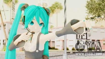 MMD Hatsune Miku for GTA San Andreas