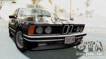BMW M635 CSi (E24) 1984 HQLM PJ3 for GTA San Andreas