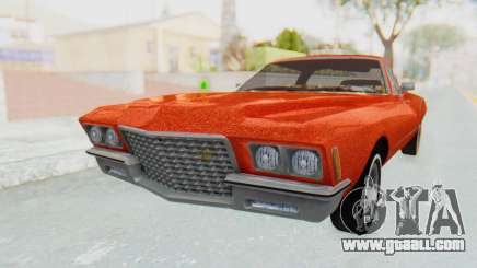 Buick Riviera 1972 Boattail Lowrider for GTA San Andreas