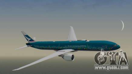 Boeing 777-300ER Cathay Pacific Airways v2 for GTA San Andreas