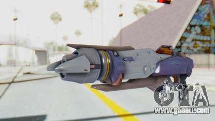 Pharah Mechaqueen Rocket for GTA San Andreas