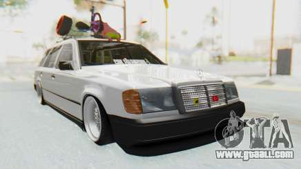 Mercedes-Benz W124 Stance Works for GTA San Andreas