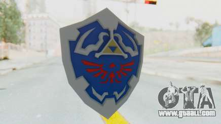 Hylian Shield from Legend of Zelda for GTA San Andreas