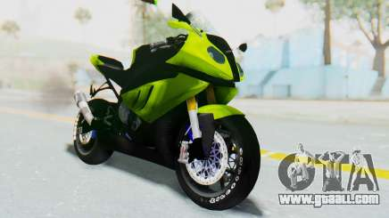 BMW S1000RR HP4 Modification for GTA San Andreas