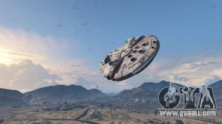 Star Wars Millenium Falcon 5.0 for GTA 5