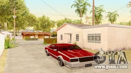 New Tahoma from GTA 5 for GTA San Andreas