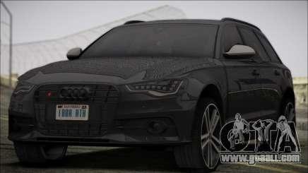 Audi S6 for GTA San Andreas