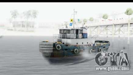 GTA 5 Buckingham Tug Boat v2 for GTA San Andreas