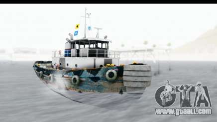 GTA 5 Buckingham Tug Boat v1 for GTA San Andreas