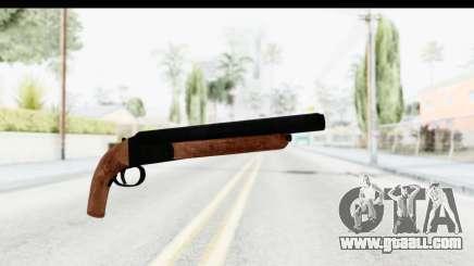 GTA 5 Double Barrel Sawn-Off for GTA San Andreas