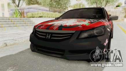 Honda Accord 2011 Hatsune Miku Senbonzakura for GTA San Andreas