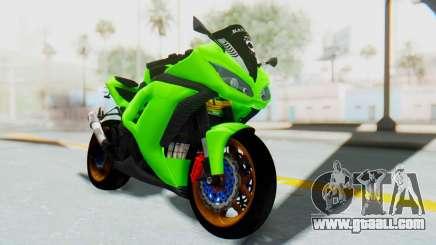 Kawasaki Ninja 250 Abs Streetrace for GTA San Andreas