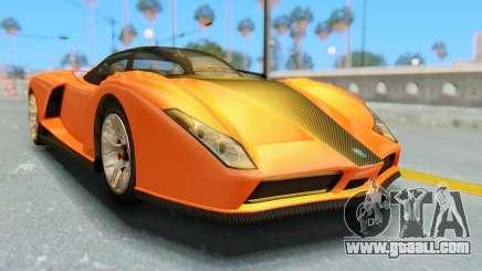 GTA 5 Grotti Cheetah IVF for GTA San Andreas