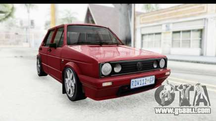 Volkswagen Golf VeloCiti 2008 Updated for GTA San Andreas
