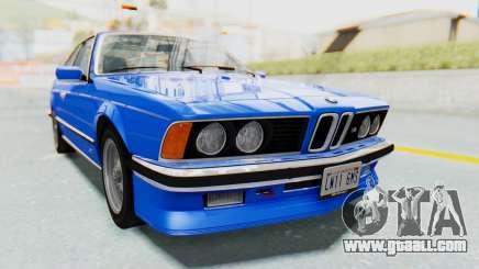 BMW M635 CSi (E24) 1984 HQLM PJ1 for GTA San Andreas