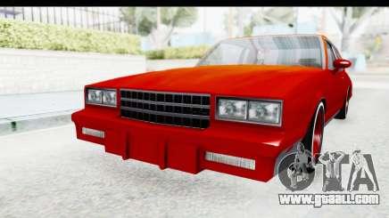 Chevrolet Monte Carlo Breaking Bad for GTA San Andreas
