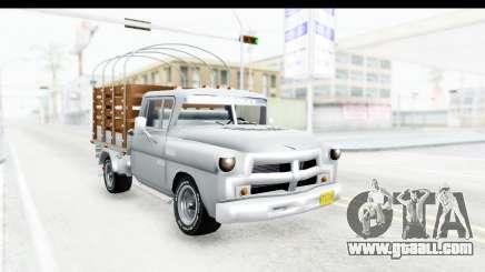 Chevrolet 3100 Diesel v1 for GTA San Andreas