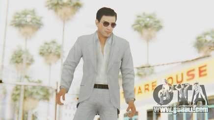 Mafia 2 - Vito Scaletta Madman Suit White for GTA San Andreas