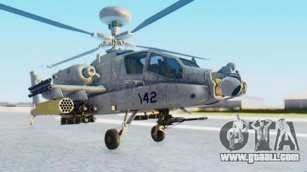 AH-64 Apache Marines for GTA San Andreas