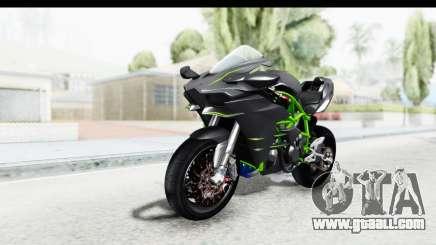 Kawasaki Ninja H2R Black for GTA San Andreas