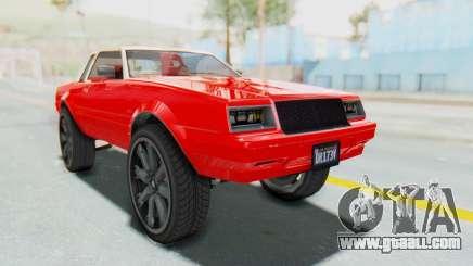 GTA 5 Willard Faction Custom Donk v2 IVF for GTA San Andreas