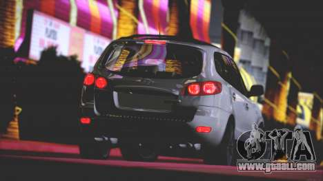 Hyundai Santa Fe Stock for GTA San Andreas upper view