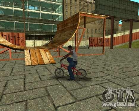 New HD Glen Park for GTA San Andreas eighth screenshot