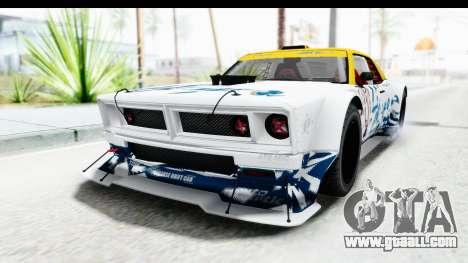 GTA 5 Declasse Drift Tampa for GTA San Andreas upper view