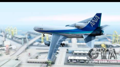 Lockheed L-1011-100 TriStar All Nippon Airways for GTA San Andreas left view