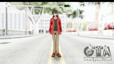 Shintaro Kirasagi (Kagerou Project) for GTA San Andreas second screenshot