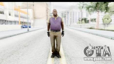Left 4 Dead 2 - Coach for GTA San Andreas second screenshot