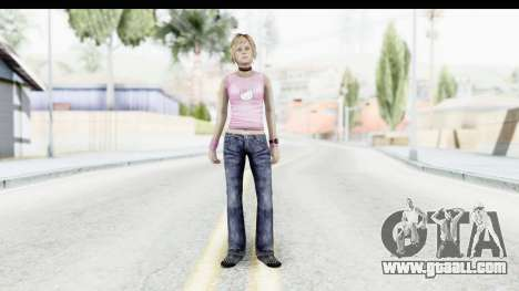 Silent Hill 3 - Heather Sporty Light Pink HK for GTA San Andreas second screenshot