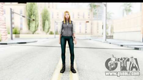 Marvel Future Fight - Sharon Carter (Civil War) for GTA San Andreas second screenshot