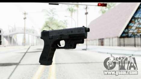 Glock P80 for GTA San Andreas
