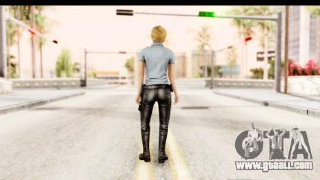 Silent Hill Shattered Memories - Cybil for GTA San Andreas third screenshot