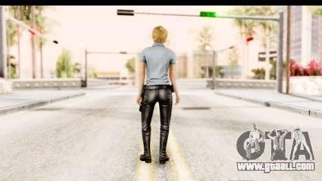 Silent Hill Shattered Memories - Cybil for GTA San Andreas third screenshot